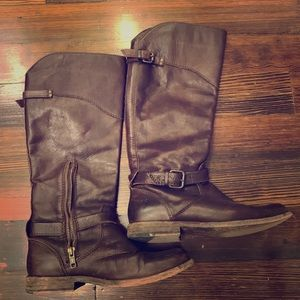 High shaft FRYE boots